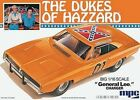 MPC Dukes General Lee Charger - Plastic Model Car Kit - 1/16 Scale - #752