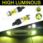 2pcs H1h3h4h7h11900590061157 100w 2323 Led Yellow Fog Driving Light Bulbs