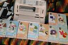 CRICUT CREATE MACHINE 9 CARTRIDGES EXTRA CUTTING MATS CD EVERYTHING IN PHOTOS
