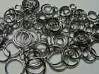 100 Mixed Jump Ring Jewelry Findings Assorted 46810mm Choose Your Color
