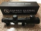 Osprey Global 1x6 3 Color Illuminated Tactical Scope LOWER PRICE