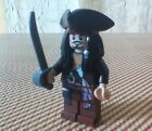 LEGO Pirates of the Caribbean JACK SPARROW with Tricorne Hat & Sword Minifigure