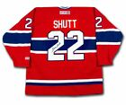 Steve Shutt Autographed Red Montreal Canadiens Jersey - AUTOGRAPH AUTHENTIC