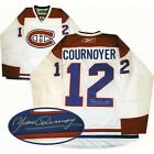 Yvan Cournoyer Autographed White Montreal Canadiens Jersey - AUTOGRAPH AUTHENTIC