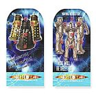 1x Set of 4 Dr Who Dalek Themed Pin Ball Games.