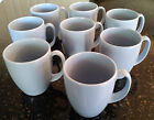 8 CORELLE LIVINGWARE COUNTRY COTTAGE LIGHT BLUE MUGS