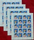 New 200 Assorted Mixed Multiples  Singles of 5  US Postage Stamps FV  1000