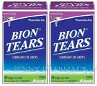 Bion Tears Lubricant Eye Drops Single Use Vials 28ct  2 boxes