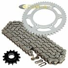 Drive Chain & Sprockets Kit for Suzuki DR-Z125 DRZ125 2003-2016