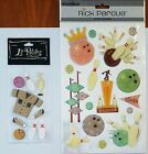 New Scrapbooking Stickers Lot BOWLING Themed Epoxy  3 D La Petites Rick Perdue
