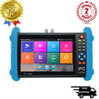 Ipc9800plus 7 Ip Cctv Tester Monitor Analog Camera H.265 4k Video Onvif Wifi