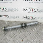 Aprilia RS 125 11 OEM front wheel axle shaft with spacer & nut