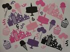 32 piece party theme cut outs for greeting card or scrapbook die cuts