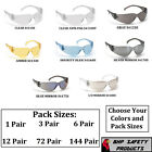 PYRAMEX INTRUDER SAFETY GLASSES ANSI Z87+ WORK EYEWEAR LIGHTWEIGHT SUNGLASSES