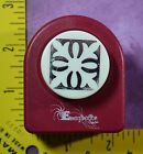 EMAGINATION 1 SQUARE FLEUR FANCY paper crafting card making paper punch 1323