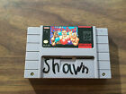 Super Punch Out Super Nintendo SNES Game Cart see pictures