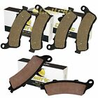 FRONT and REAR BRAKE PADS FIT HONDA NT700V DEAUVILLE 2010