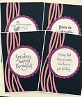 Set Of 4 Handmade Cards Stampin Up  More