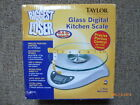 Taylor Precision Products Biggest Loser 66 Pound Kitchen Scale with Glass BNIB