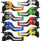 For BMW F650GS 2003-2007 Folding Extending Clutch Brake Levers Foldable 06 05 04