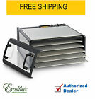 Excalibur D500CDSHD, Food Dehydrator 5-Tray Clear Door Stainless Steel 440 Watts