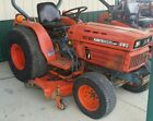 KUBOTA tractor with belly mower B8200 HST