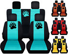 CC Front+Back bear claw car seat covers fits 2007 2018 wrangler 2dr or 4dr