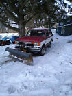1987 Ford Bronco XLT Sport Utility 2 Door 1987 Ford Bronco Plow Truck 4x4 XLT 50L Meyer 1 Owner