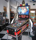 F-14 TOMCAT PINBALL MACHINE ~ SUPER CONDITION ~ SHOPPED WITH CUSTOM LED BULBS