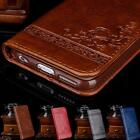 Luxury Leather Flip Wallet Phone Case Cover Stand for iPhone 7 6 6S Plus Samsung