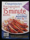 Weight Watchers Five Ingredient 15 Minute Recipes Winter 2012 Paperback English