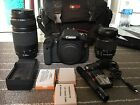 Canon EOS Rebel T3i EOS 600D 180 MP Digital SLR Camera Black Kit w EF S