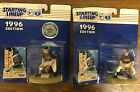 Lot of 2 1996 Starting Lineup Cal Ripken Jr. Convention Edition Baltimore Oriole
