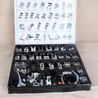 Professional 32 pcs  Multi-function Sewing Machine Parts Presser Foot Kit Set