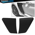 Fits 15 18 Ford Mustang GT Style Rear Side Fender Door Scoops PP