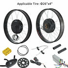 1000W 48V 26 Front Rear Wheel Electric Bicycle Motor Conversion Kit Fat Wheel