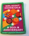 New Girl Scout Cookie Sale Fun Patch Girl Scout Cookie Sale 95th Anniversary