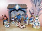 JIM SHORE 2004 MINI NATIVITY COMPLETE WITH 10 PIECES HEARTWOOD CREEK + BOX