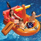 Swimline Gamelleon Raider Swimming Pool 64 Inflatable Pirate Ship Float