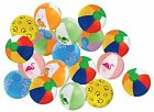 25 Pack Beach Balls Designs Summer Birthday Party Favors Kids Gifts Pool Toys