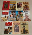 LOT OF 11 WESTERN NOVELS FREE SHIPPING  916
