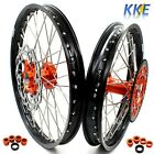 KKE 21/18 ENDURO WHEEL RIM FIT KTM EXC  EXC-R 125-530CC WITH DISCS AND SPROCKET