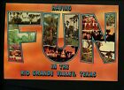 Large Letter Like Modern postcard Rio Grande Valley TX Texas FUN Palm trees