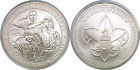 2010 P 1 Boy Scouts Commemorative Silver Dollar Uncirculated Cap Only