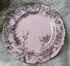 222 FIFTH PINK GOLD METALLIC ADELAIDE SPRING TOILE DINNER ONE PLATE NEW