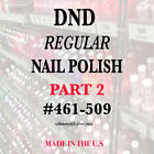 DND Daisy Regular Nail Polish Lacquer 5 fl oz Choose your colors PART 2