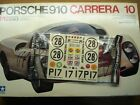 Tamiya 1/12 Scale Porsche 910 Carrera Parts -  Decal Sheet & Sprue A - Perfect