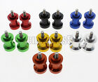 6mm Swingarm Spools Sliders Kawasaki For APRILIA RSV 1000 R Factory Nera RS 250