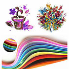 100 260 Stripe DIY Quilling Paper Origami 3 5 7 10mm Width For DIY Craft Decor