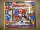 BALLY BOBBY ORR'S POWER PLAY PINBALL BACK GLASS